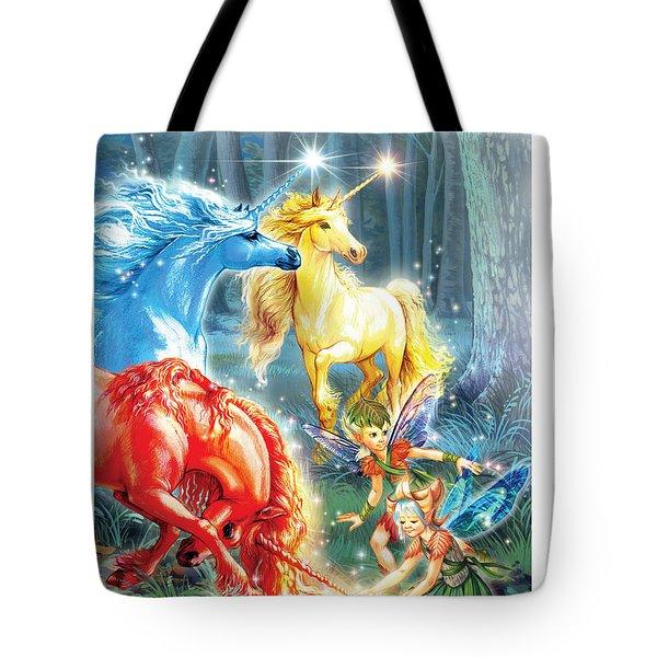 Unicorns And Fairies Tote Bag