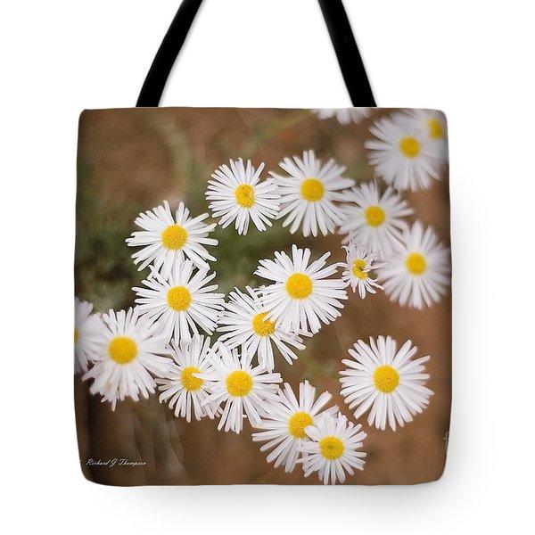Unidentified Daisy Tote Bag