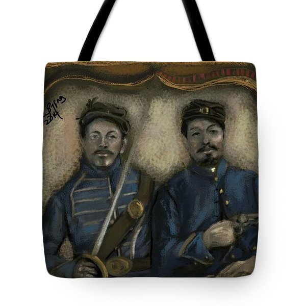 Unidentified Union Soldiers Tote Bag