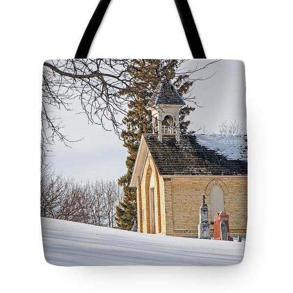 Union Cemetery Chapel Tote Bag