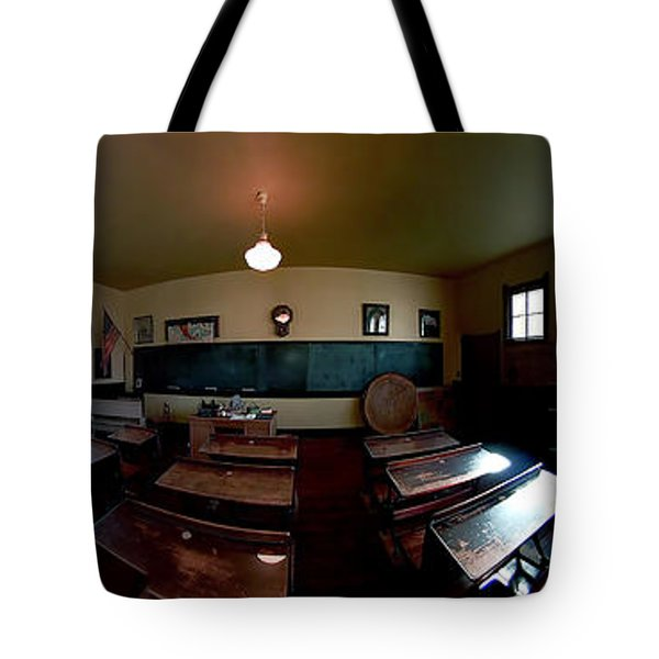 Union  Illinois One Room School House Tote Bag