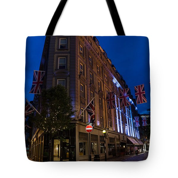 Union Jacks - Flags At Seven Dials Covent Garden London Tote Bag