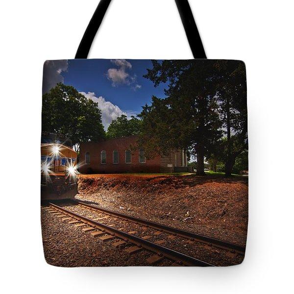 Union Pacific 7917 Train Tote Bag