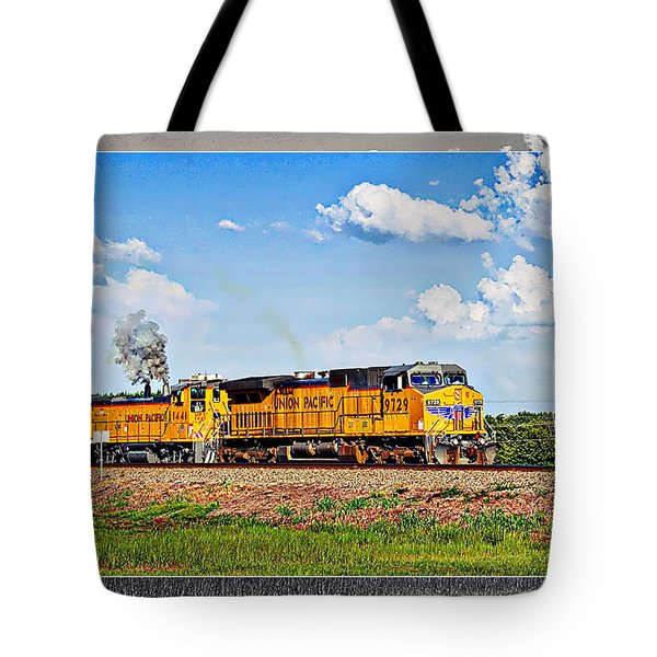 Union Pacific Railroad 2 Tote Bag