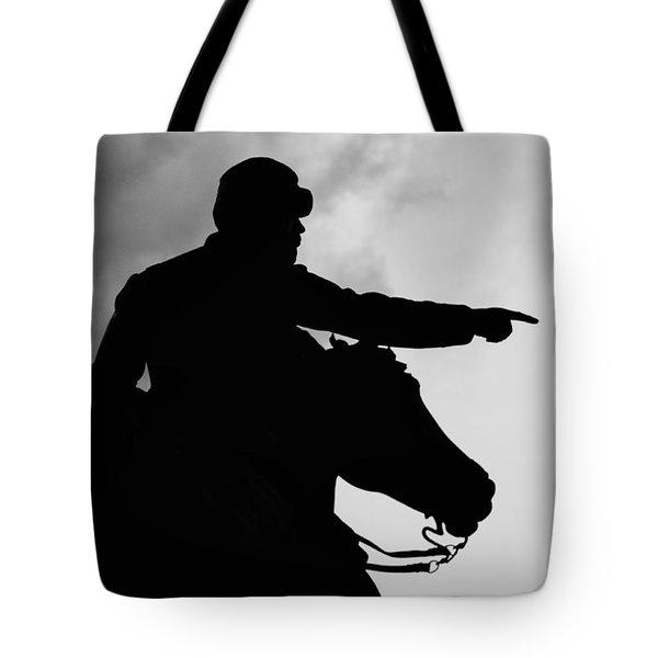 Union Silhouette  Tote Bag