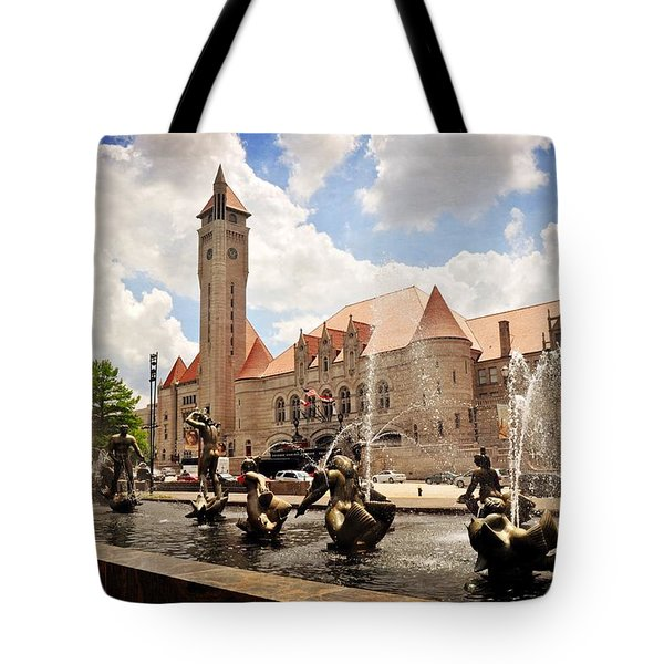 Union Station 1 Tote Bag by Marty Koch