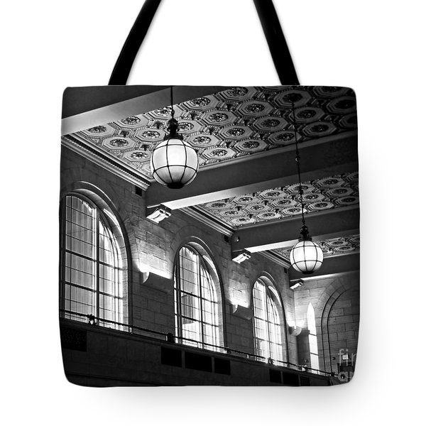 Union Station Balcony - New Haven Tote Bag