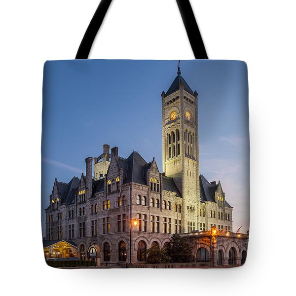 Union Station  Tote Bag by Brian Jannsen
