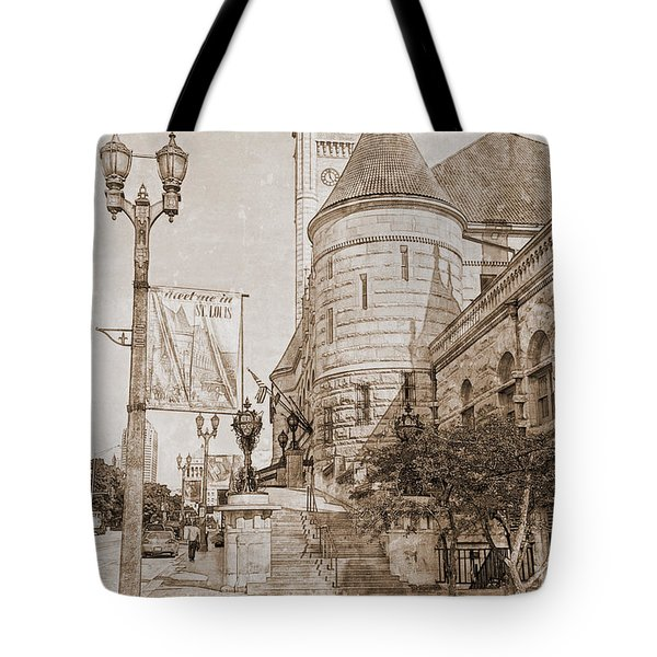 Union Station St Louis Mo Tote Bag