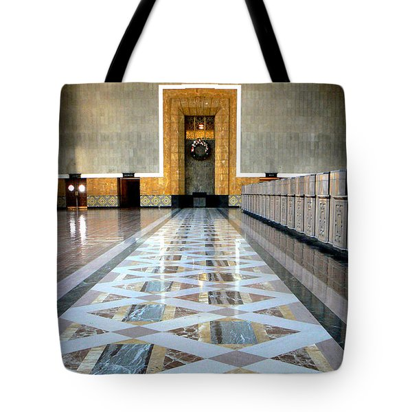 Union Station Ticket Counter Tote Bag by Karyn Robinson
