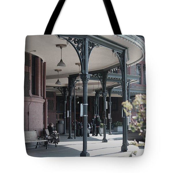 Tote Bag featuring the photograph Union Street Station by Patricia Babbitt