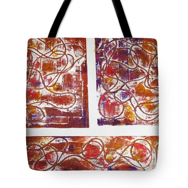 Unique Abstract II Tote Bag by Yael VanGruber