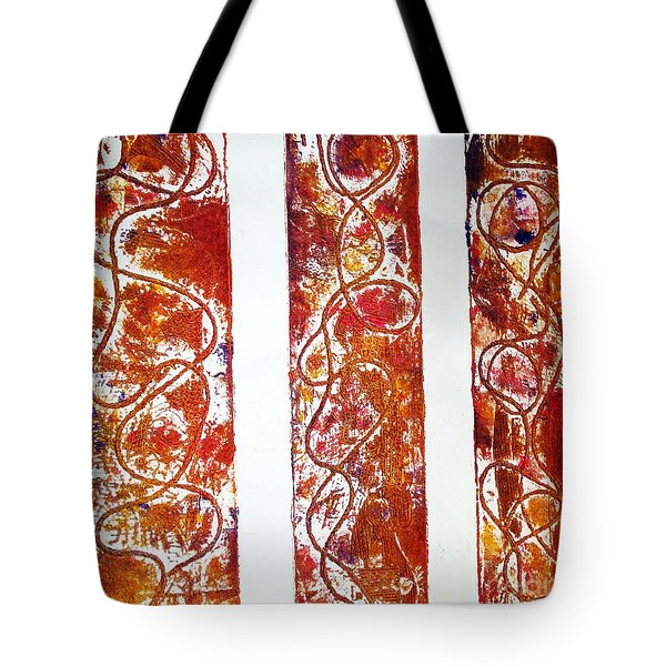 Unique Abstract Tote Bag by Yael VanGruber