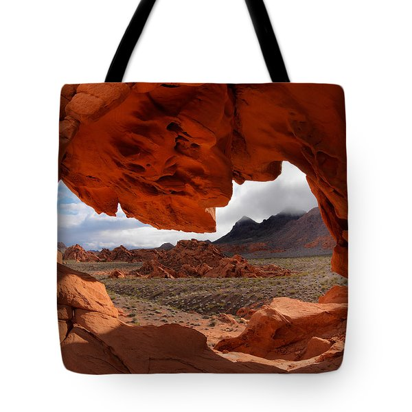 Unique Arch Nevada Tote Bag by Leland D Howard