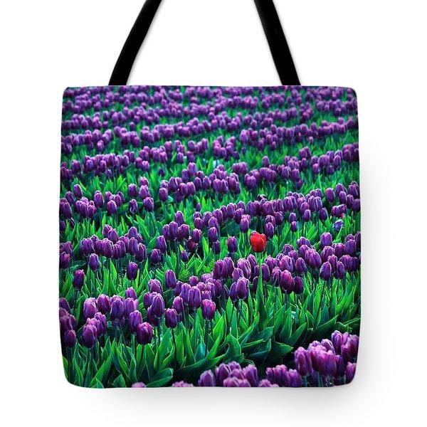 Unique Tote Bag by Benjamin Yeager