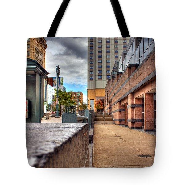 Unique City View Tote Bag by Tim Buisman