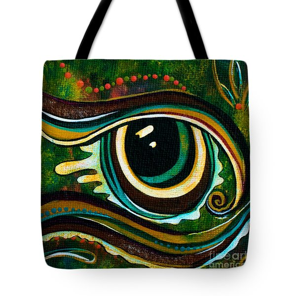 Unique Spirit Eye Tote Bag by Deborha Kerr