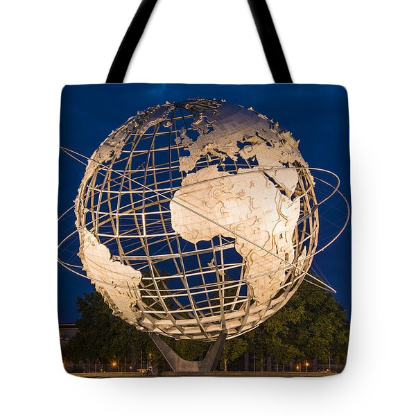 Unisphere Nights Tote Bag