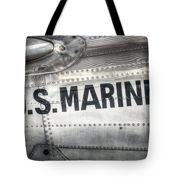 United States Marines - Beech C-45h Expeditor Tote Bag by Gary Heller