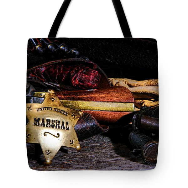United States Marshall Shield  Tote Bag
