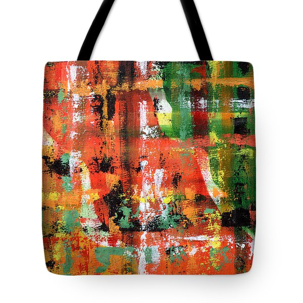Three Parts Tote Bag