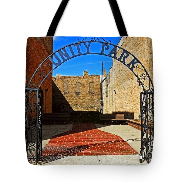Unity In America Today Tote Bag by Desiree Paquette