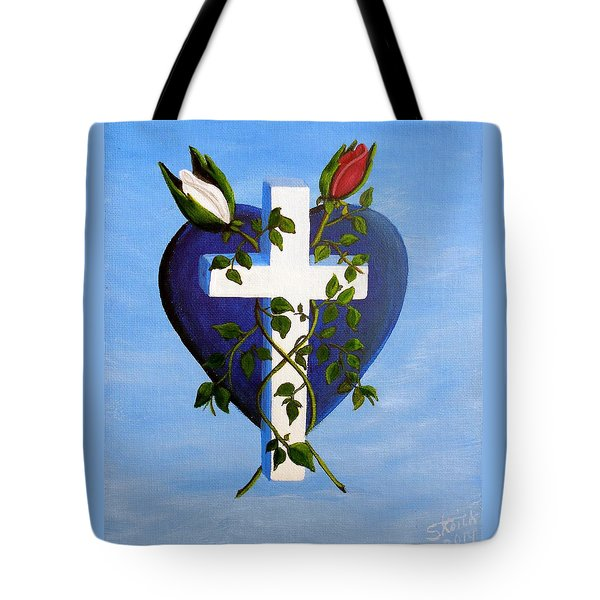 Unity Tote Bag by Sheri Keith
