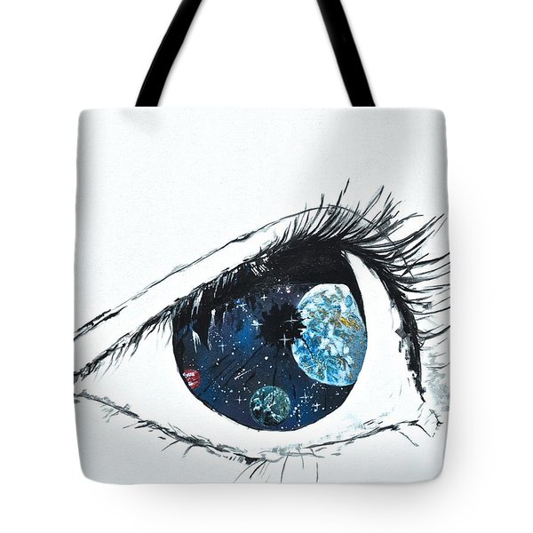 Universal Eye Tote Bag