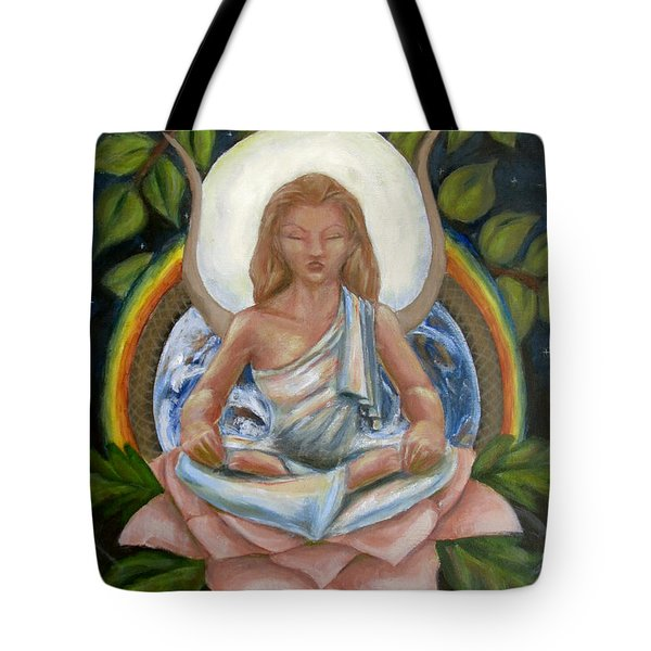 Universal Goddess Tote Bag