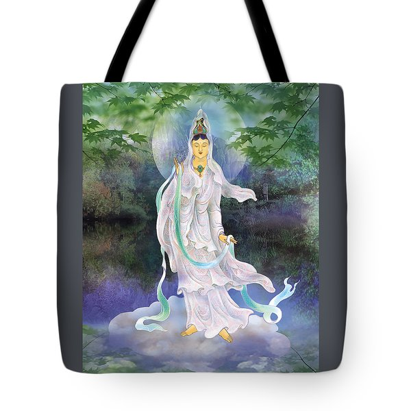 Tote Bag featuring the photograph Universal Kuan Yin by Lanjee Chee