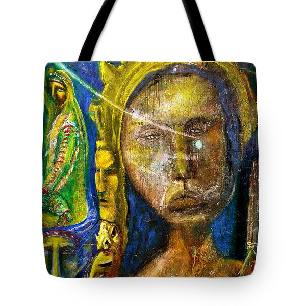 Universal Totem Tote Bag by Kicking Bear  Productions