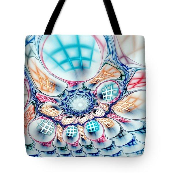 Universe In A Bag Tote Bag by Anastasiya Malakhova