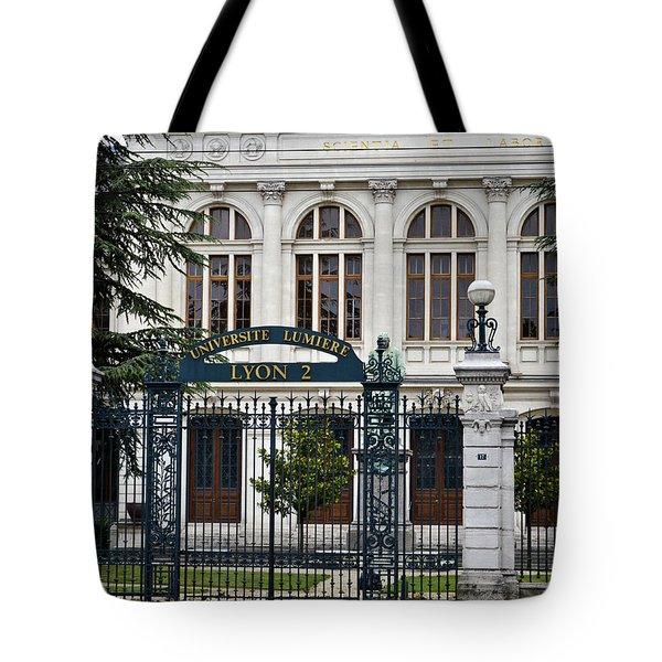 Universite Lumiere Tote Bag by Allen Sheffield