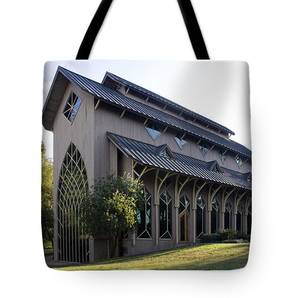 University Of Florida Chapel On Lake Alice Tote Bag