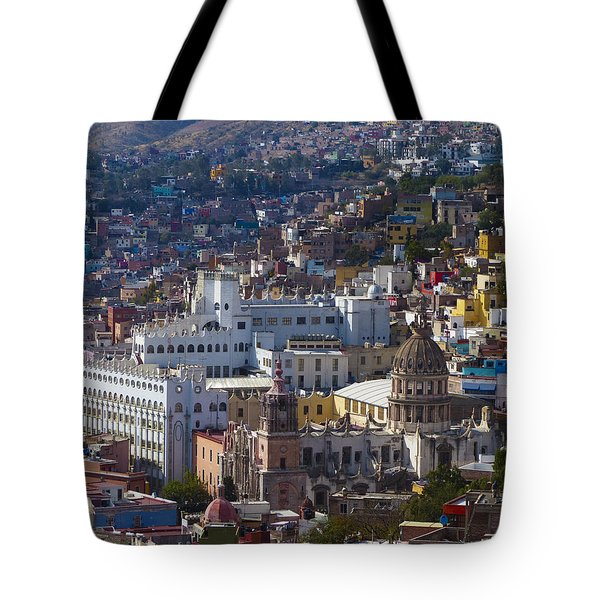 University Of Guanajuato Tote Bag by Douglas J Fisher