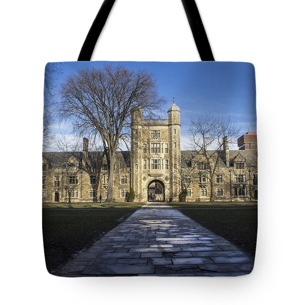 University Of Michigan Campus Tote Bag by John McGraw
