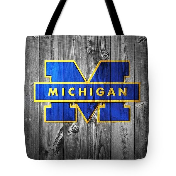 University Of Michigan Tote Bag by Dan Sproul