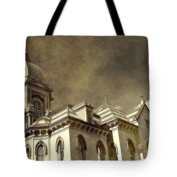 University Of Notre Dame Tote Bag