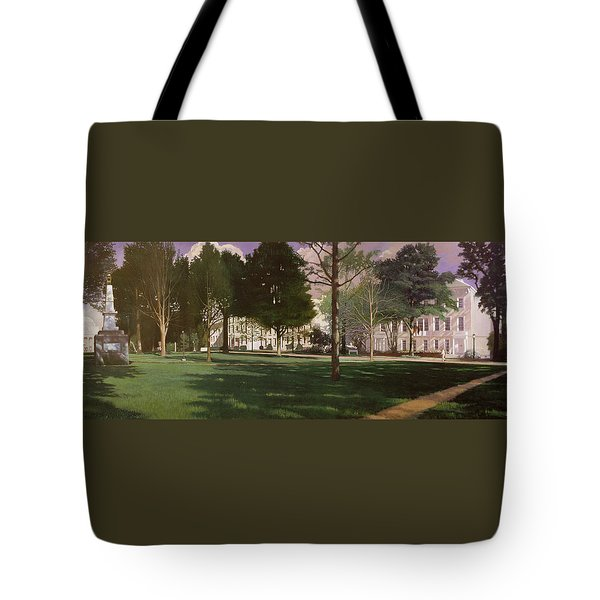 University Of South Carolina Horseshoe 1984 Tote Bag by Blue Sky