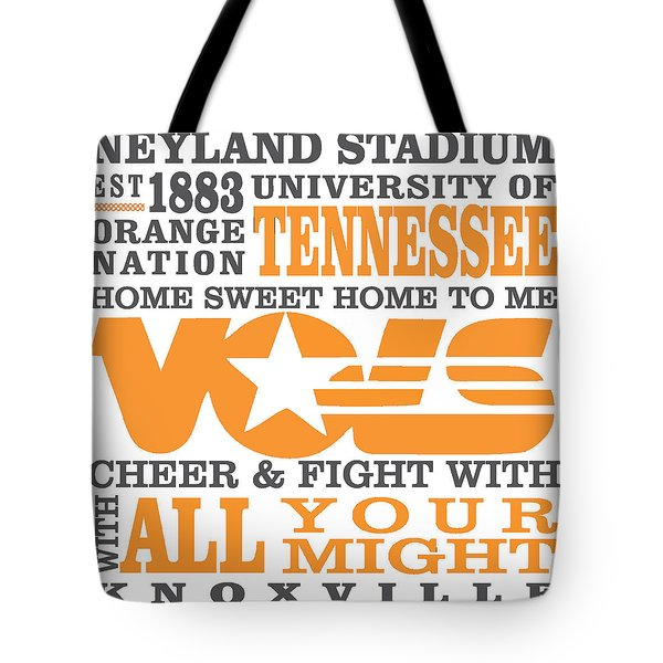 University Of Tennessee Graphic Canvas Tote Bag