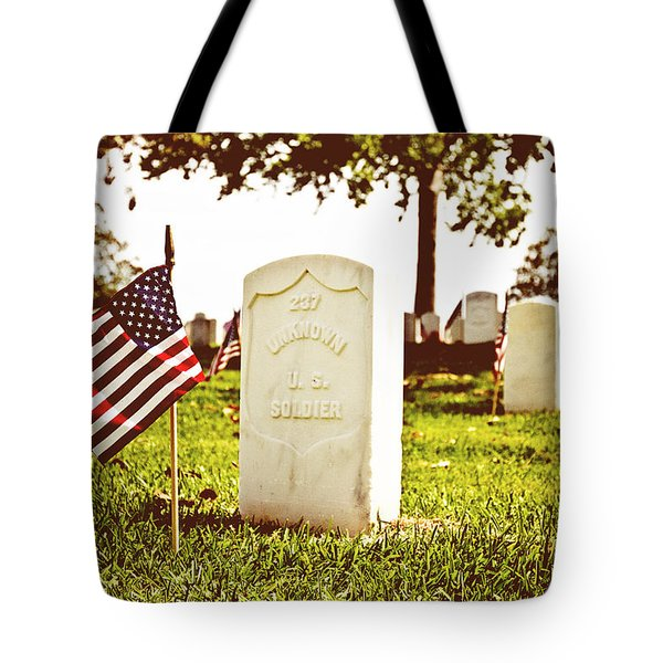 Unknown 237 Tote Bag by Scott Pellegrin