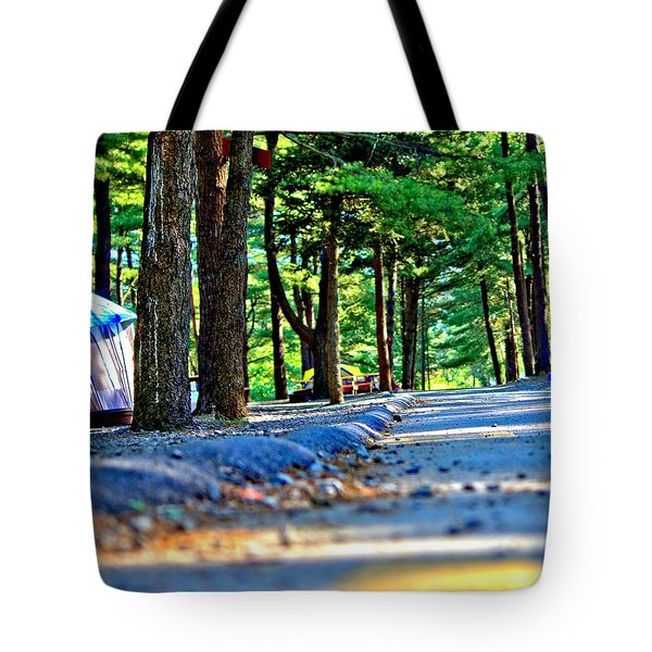 Unknown Destination Tote Bag