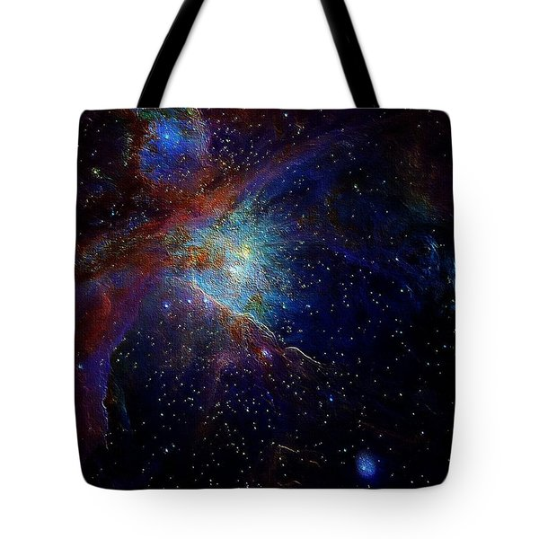 Unknown Distant Worlds Tote Bag