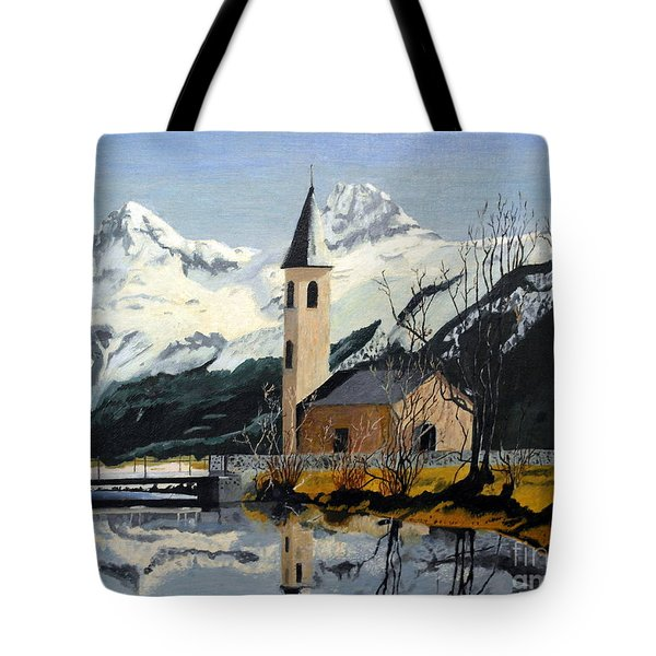 Unknown Place Of Worship Tote Bag