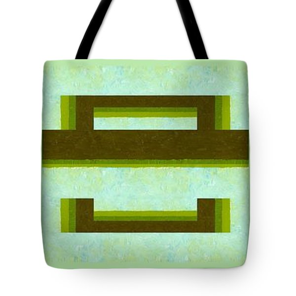 Unlocking The Way Tote Bag by Michelle Calkins