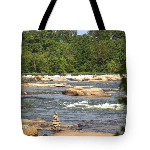 Unnatural Rock Formation Tote Bag