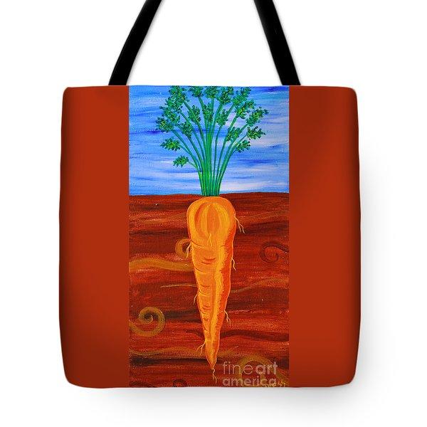 Uno Carotta Tote Bag