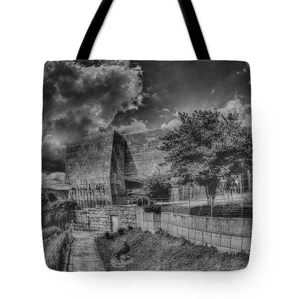 Unobstructed View Tote Bag by Dennis Baswell