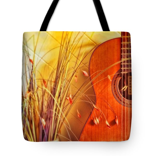 Tote Bag featuring the photograph Unplayed Melody by Wallaroo Images
