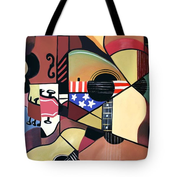 Unpluged Tote Bag by Anthony Falbo